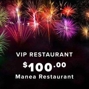 NYE VIP Restaurant Ticket