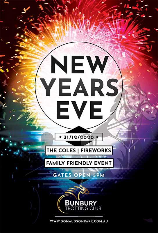 New Years Eve at the Bunbury Trotting Club