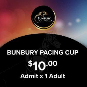 Bunbury Pacing Cup 1 x Adult