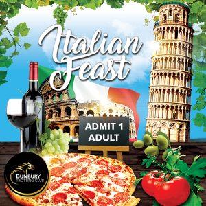 Italian Feast Admit One Adult